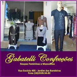 CONFECÇÕES GABATELLE