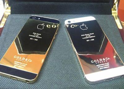 tecnologia,Banhado a ouro iPhone 5 chega às lojas