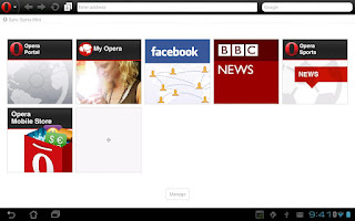 Opera Mini tabbed version 7 download for Android