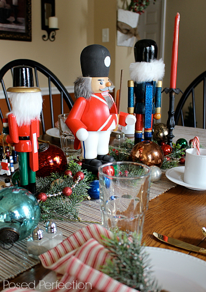 Decking the Halls Holiday Home Tour - Dining with Nutcrackers