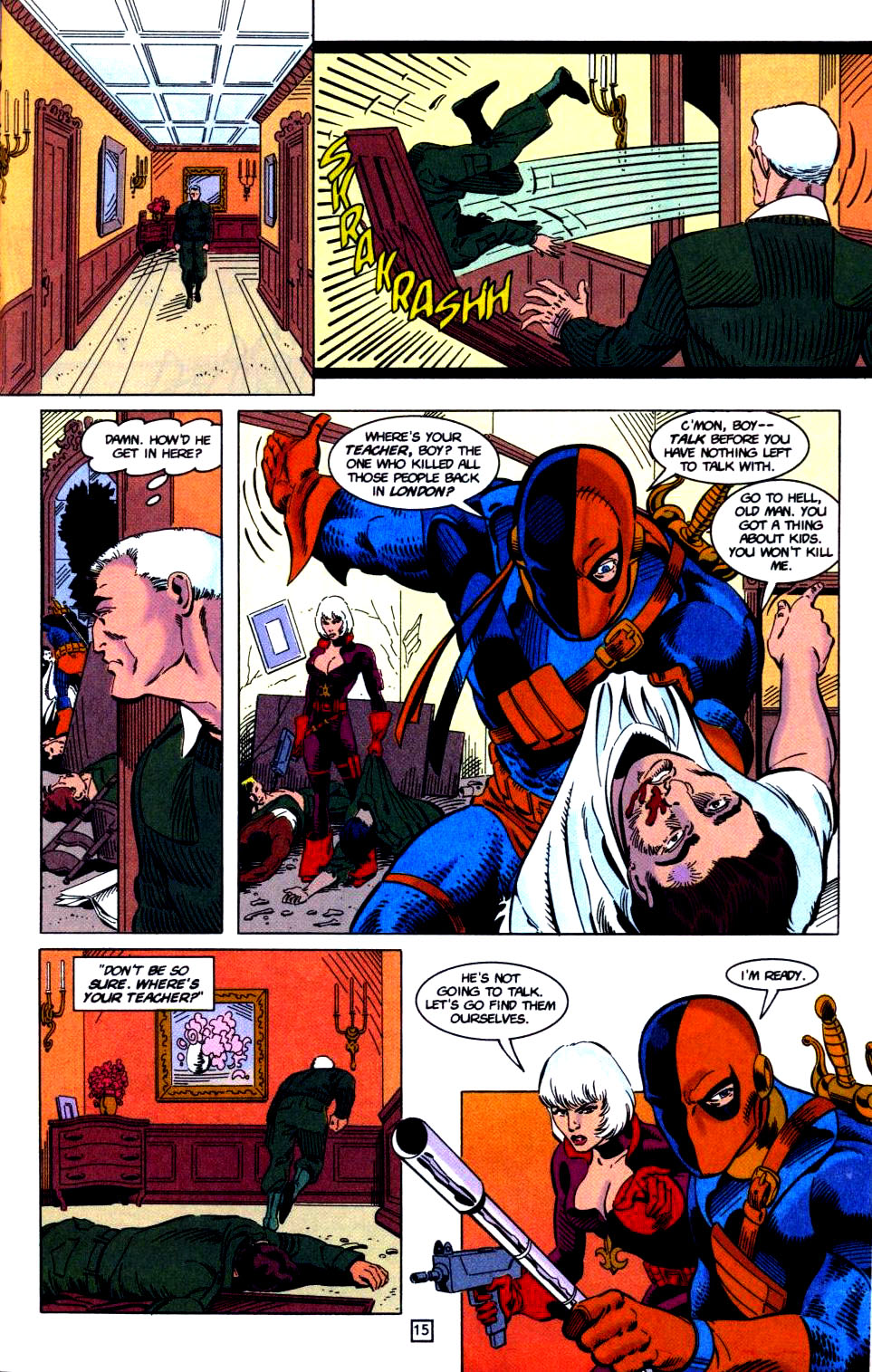 Deathstroke (1991) Issue #32 #37 - English 16