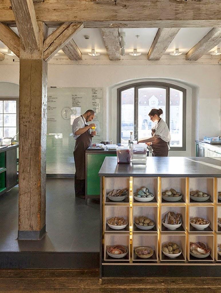 Decoración del Noma, Mejor Restaurante del Mundo 2014