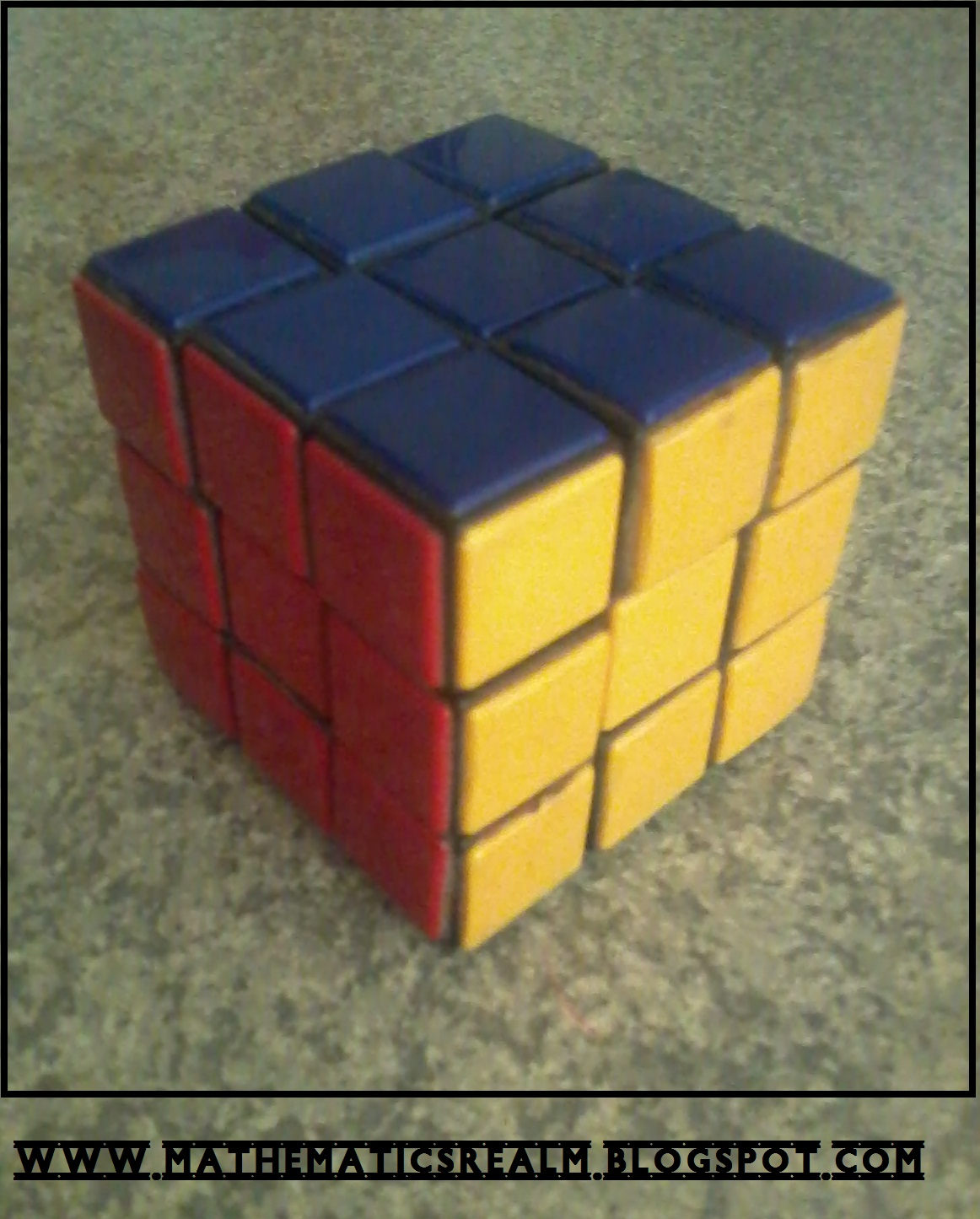 Cube Meaning a 3x3x3 Cube Meaning There