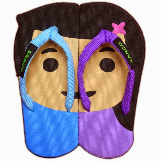 Sandal Sancu Motif Hudson