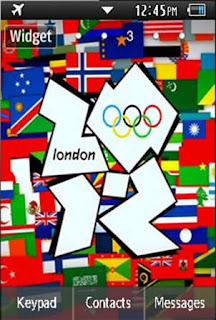 Sports London 2012 Olympics Samsung Corby 2 Theme Wallpaper