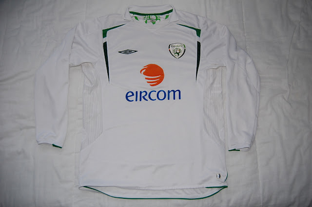 Ireland football shirt