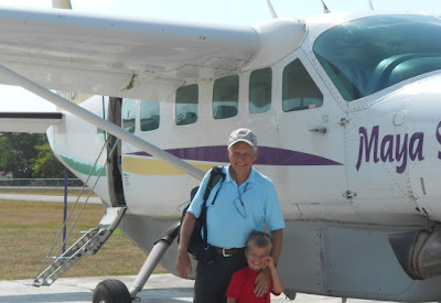 Glen flies Maya Island Air to Punta Gorda Belize with ten percent discount mckinley pritchard placencia