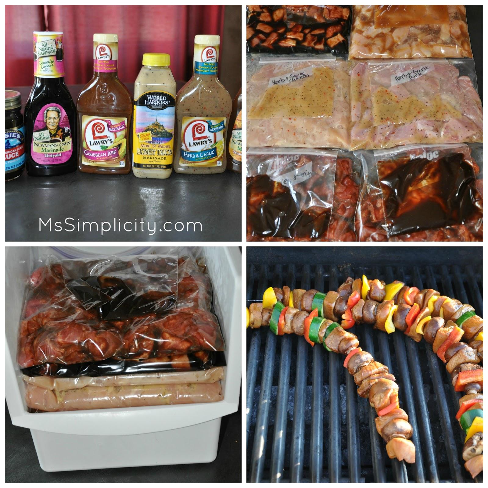 Ms simplicity easy summer freezer meals part 2