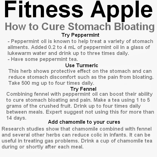 how to keep from bloating