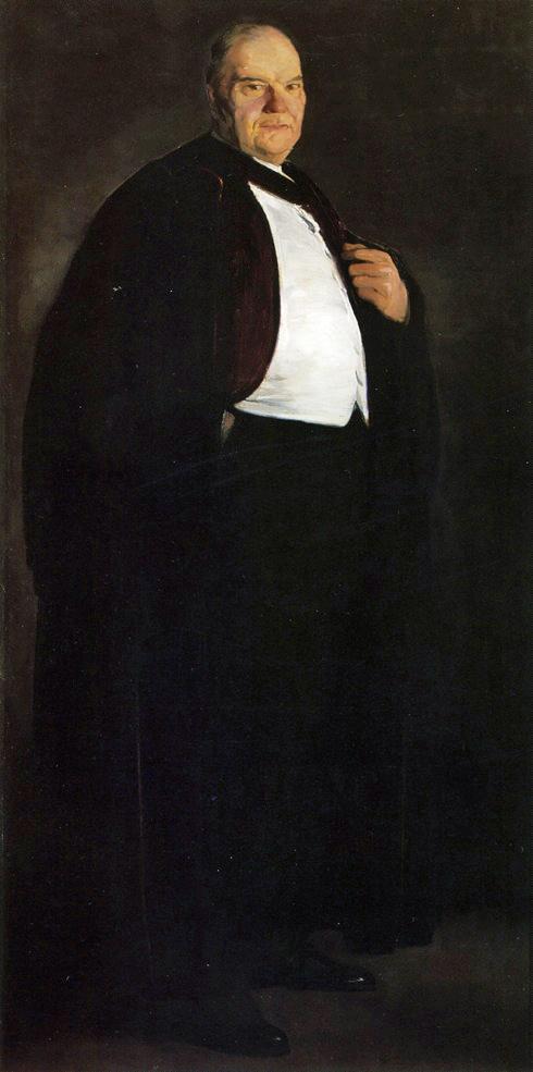 1913 William Oxley Thompson oil