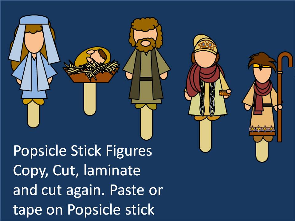 Games And Other Activities For Family Night Nativity