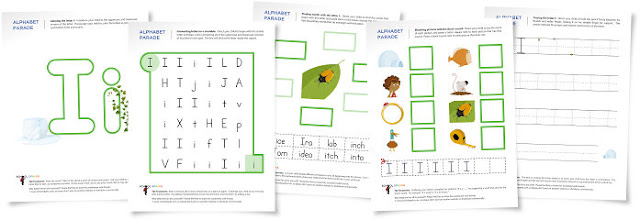 Teaching Blog Addict: FREE letter worksheets!
