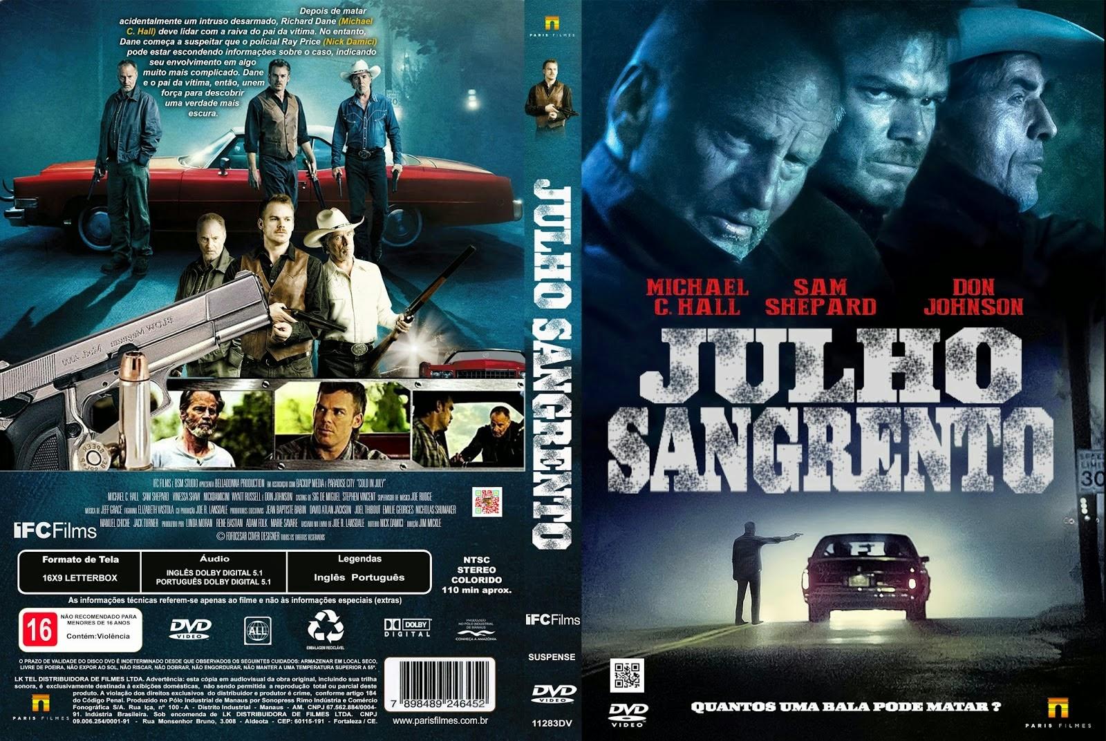 Julho Sangrento DVD-R Julho 2BSangrento