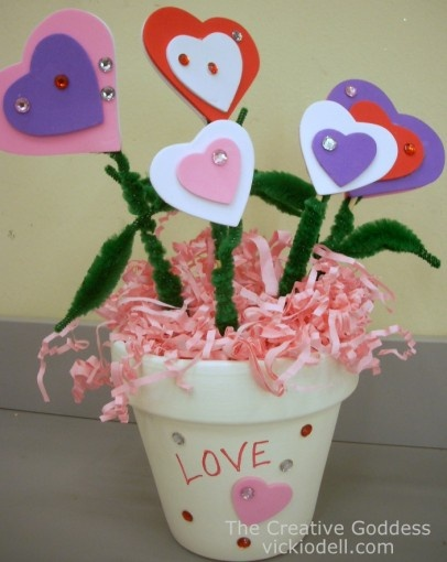 kids valentine's day craft