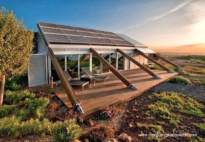 Residencia de arquitectura bioclimática en Granadilla, Tenerife, España