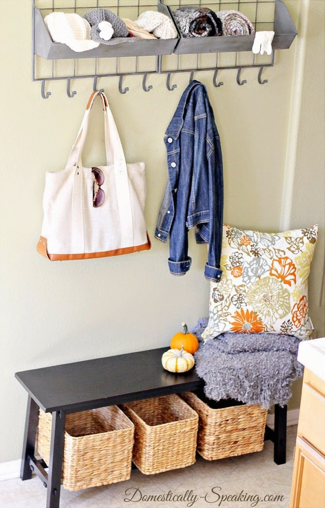 small mudroom solutions for winter