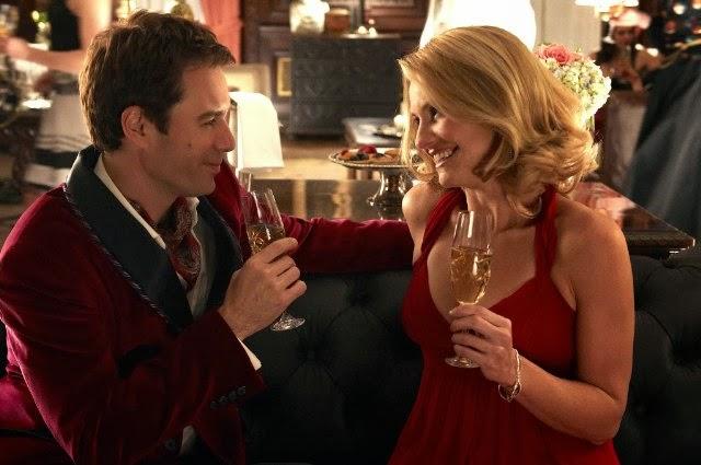Escena de la película donde Clark conoce a su mujer.