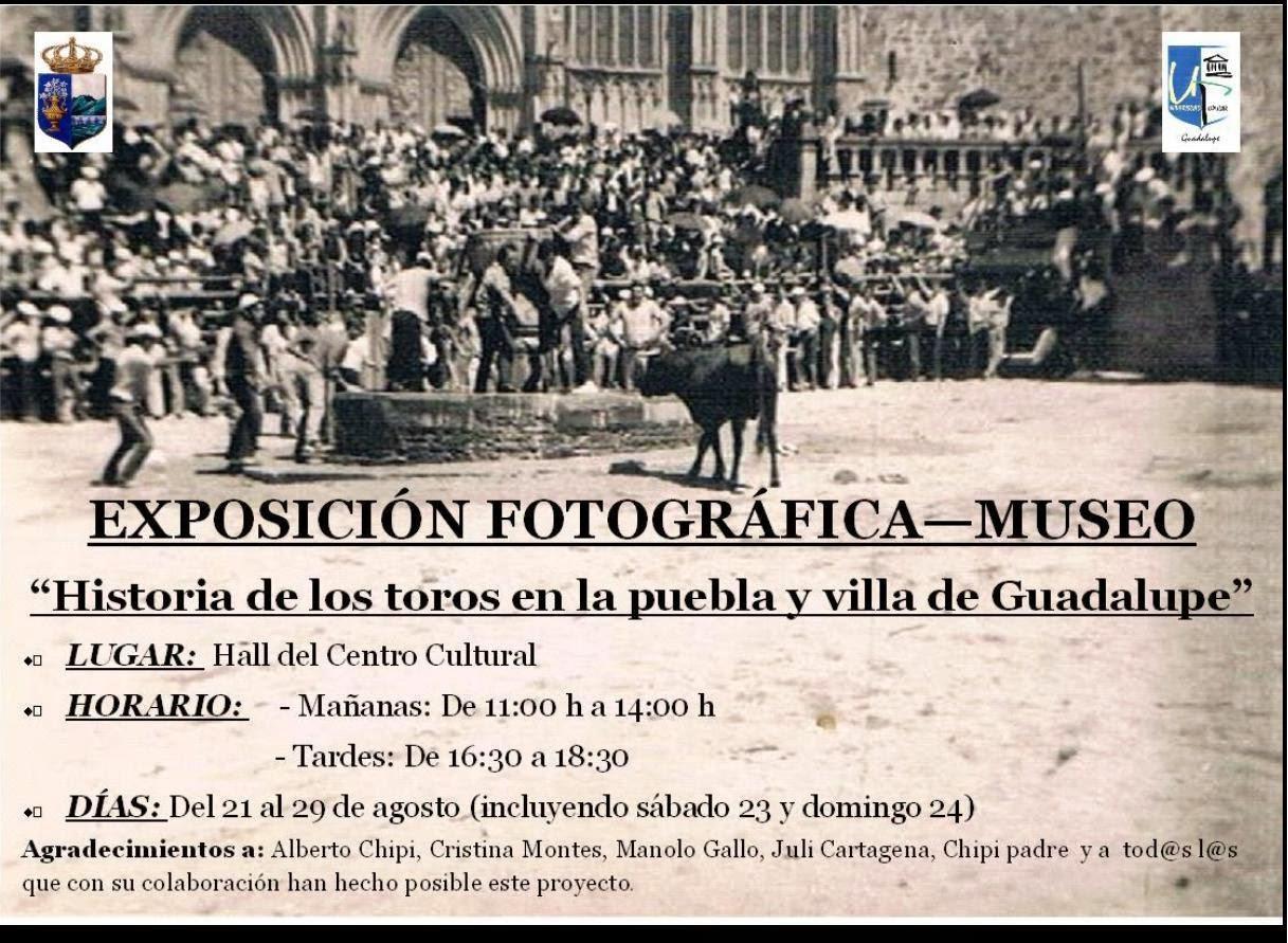 EXPOSICIÓN HISTORIA TAURINA EN GUADALUPE