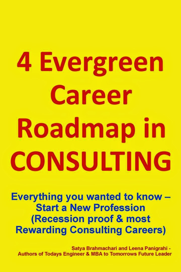 "Mobile/E-BOOK-""4 Evergreen Career Roadmap in Consulting"""