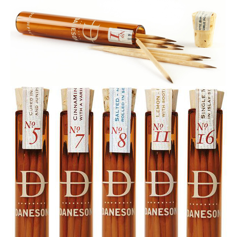 If it 39 s hip it 39 s here archives chew on this upscale flavored toothpicks from daneson - Luxury toothpicks ...
