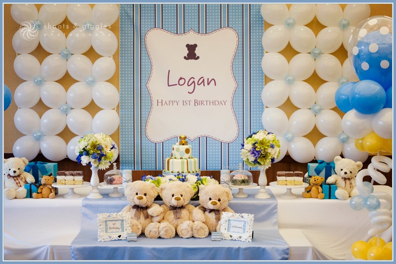 Party Frosting Teddy Bear Party Ideas Inspiration