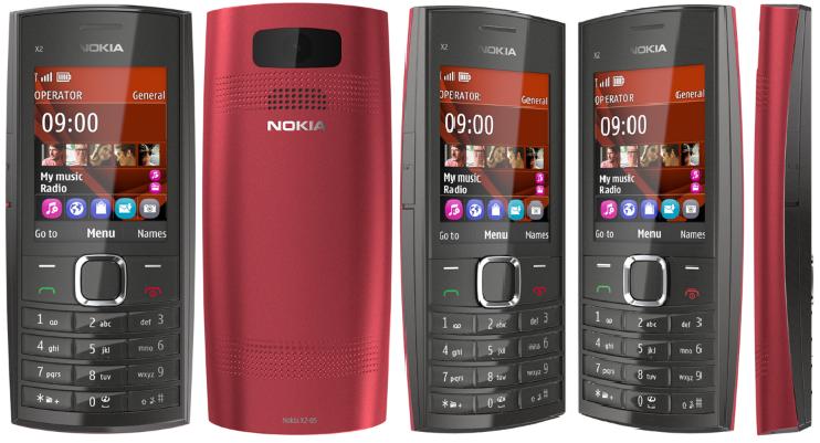 Nokia X2-05 | tauletes
