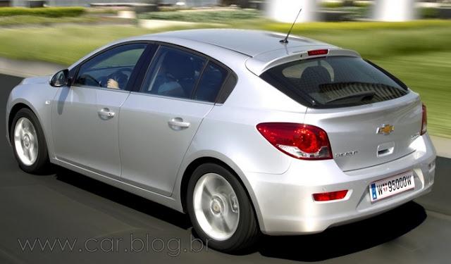 Novos carros chevrolet 2012 - Cruze Hatch