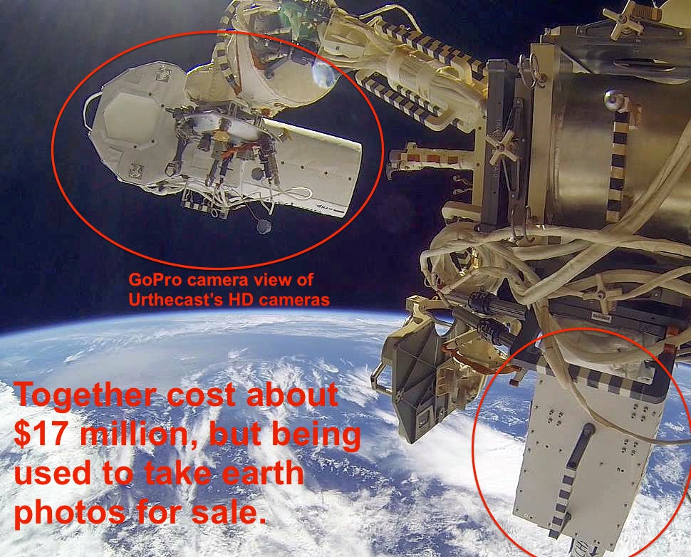 UFO SIGHTINGS DAILY: Updated: NASA shuts down ISS Cams Due ...