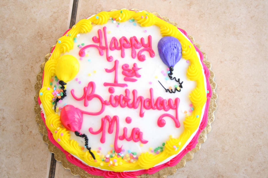 Smackpedia First Birthday Cake Babies