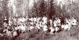 Excursión a los Estanques. Años 60