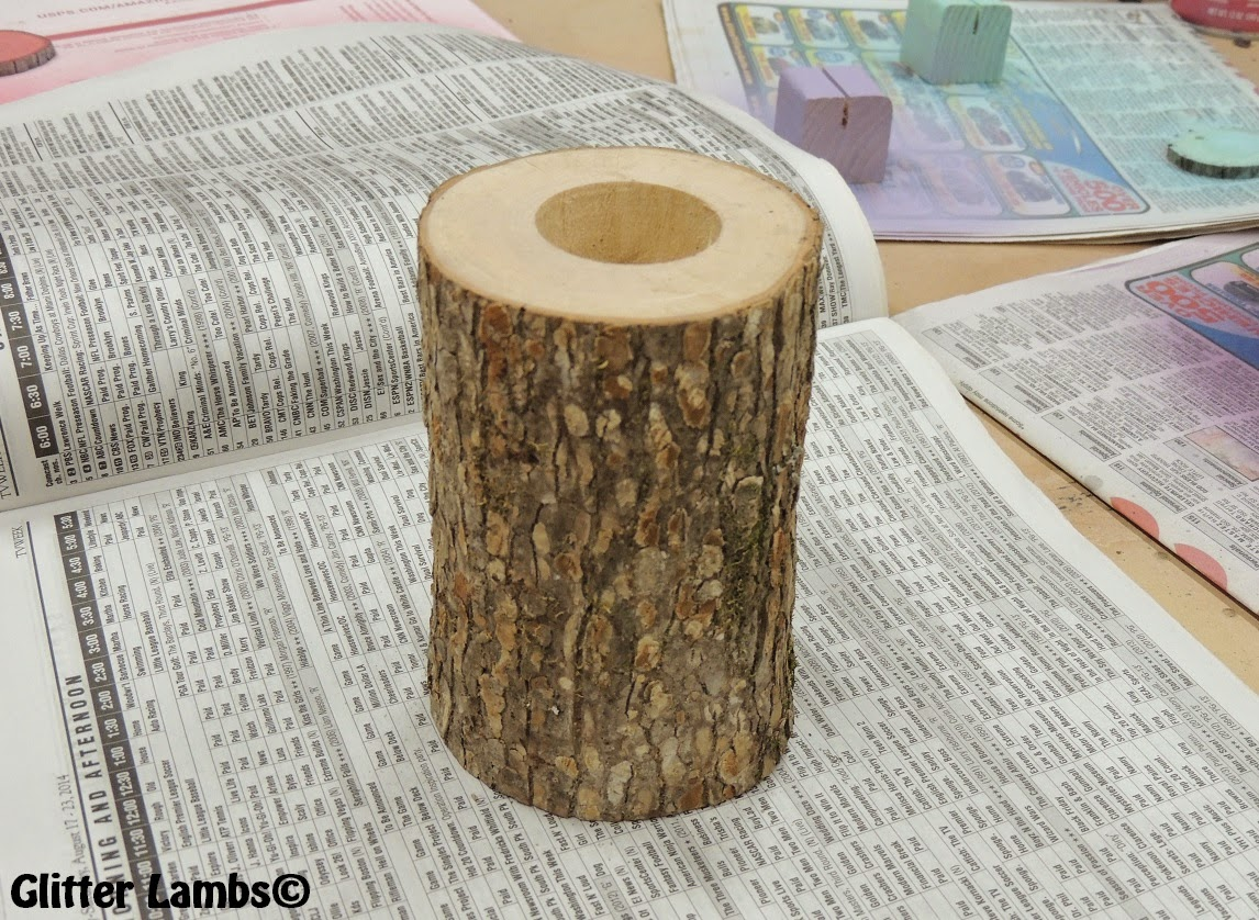 Rustic 4 weddings diy shabby chic wood vase straw holder wood diy shabby chic wood vase straw holder wood place card holders tree slices for rainbow unicorn party reviewsmspy