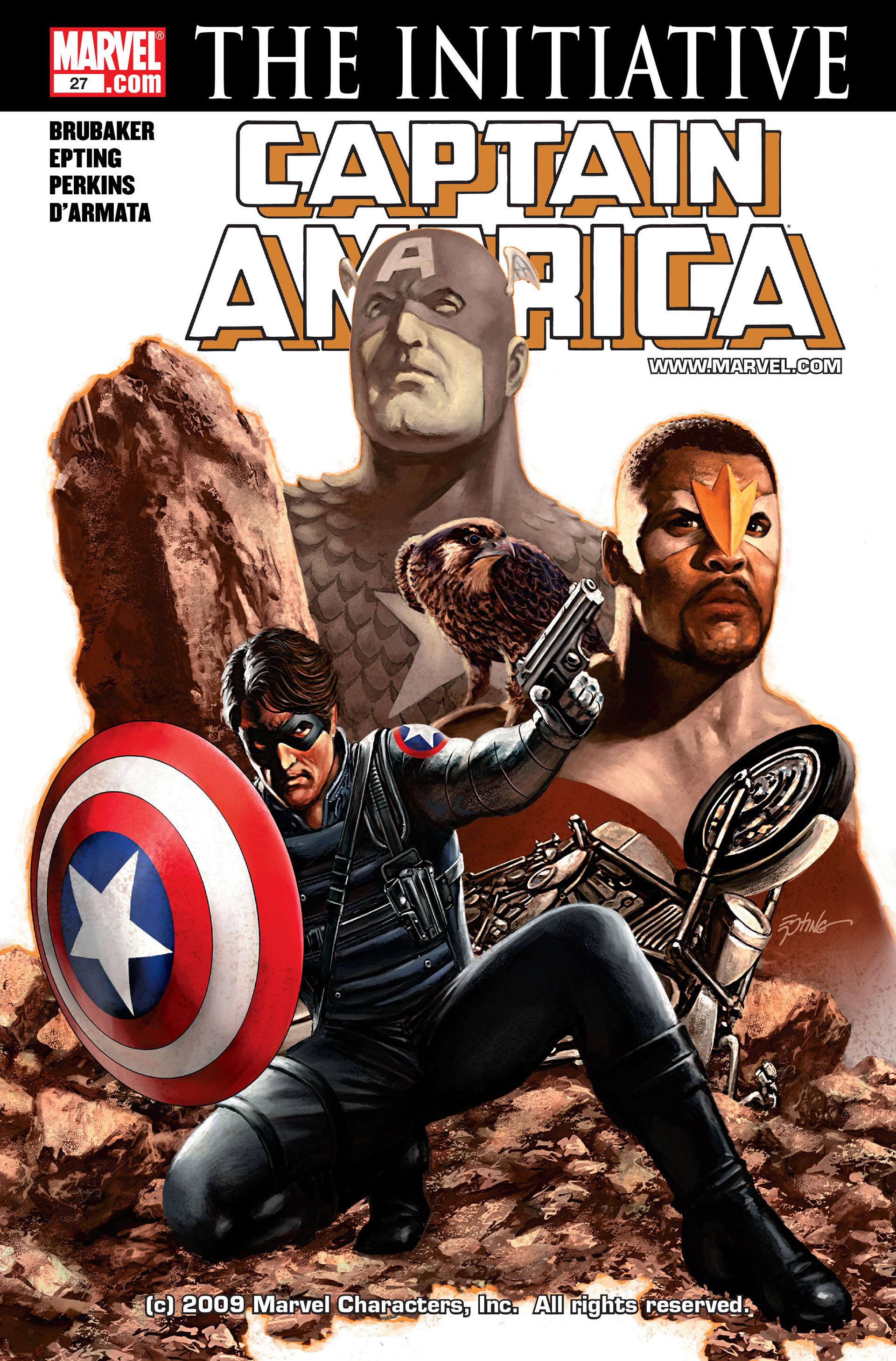Captain America (2005) Issue #27 #27 - English 1