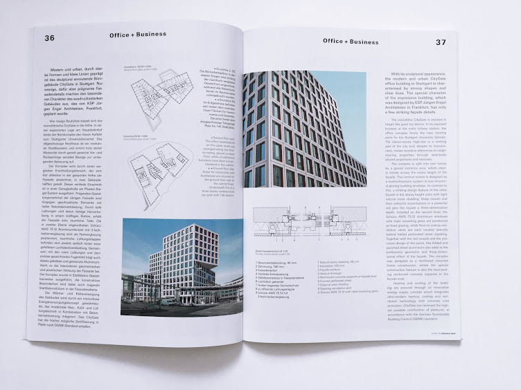 Profil Schüco KSP Architekten