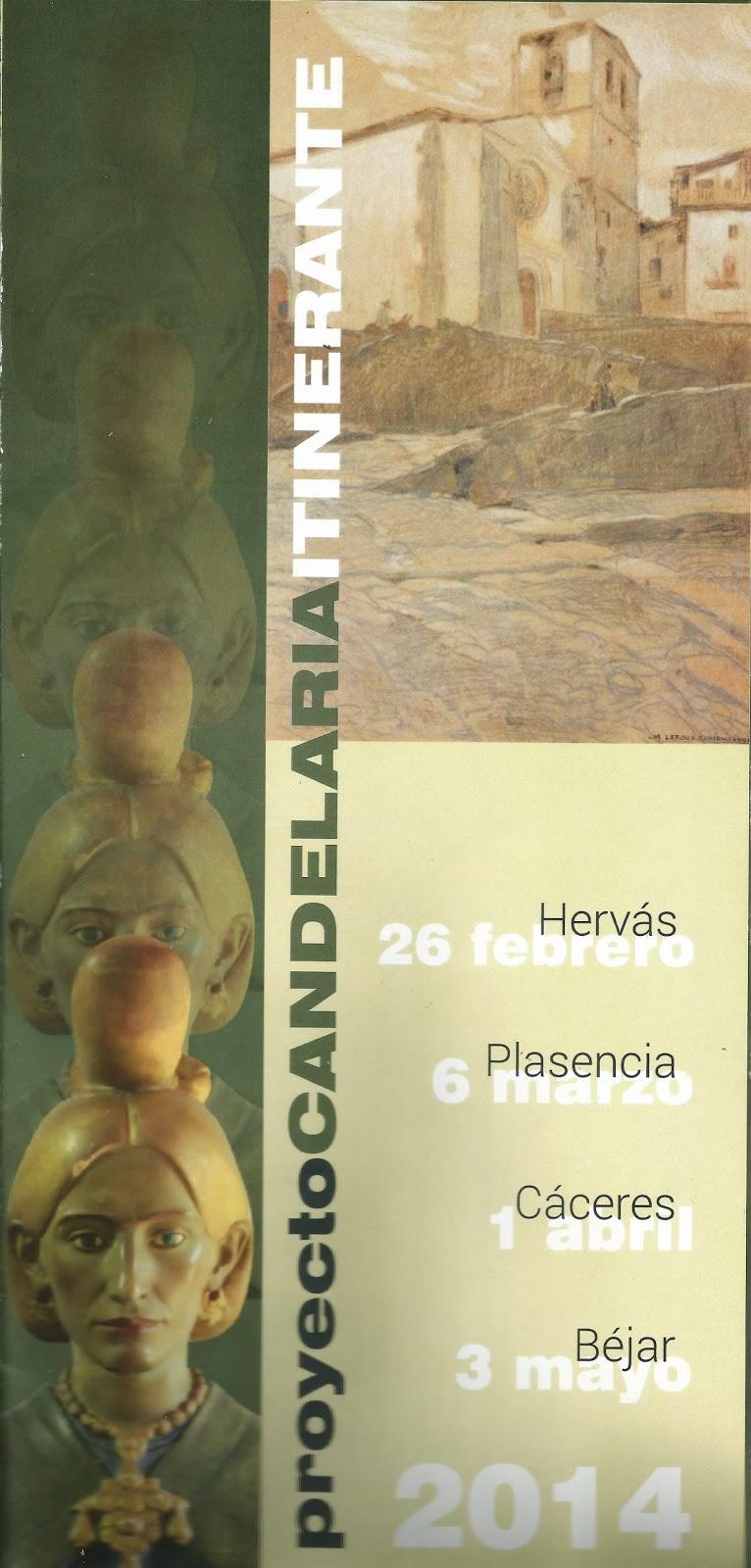 Proyecto Candelaria Itinerante 2014