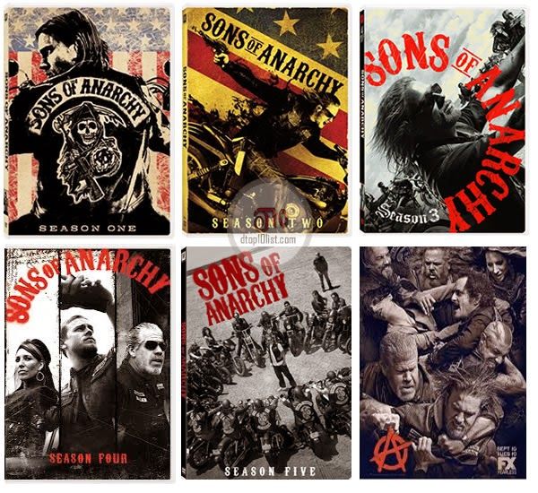 Sons of Anarchy - seasons 1 up to 6