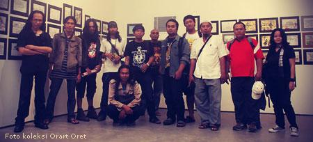 Fot saya bersama Orart Oret Semarang