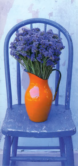 Eye For Design Decorating With The Blue Orange Color