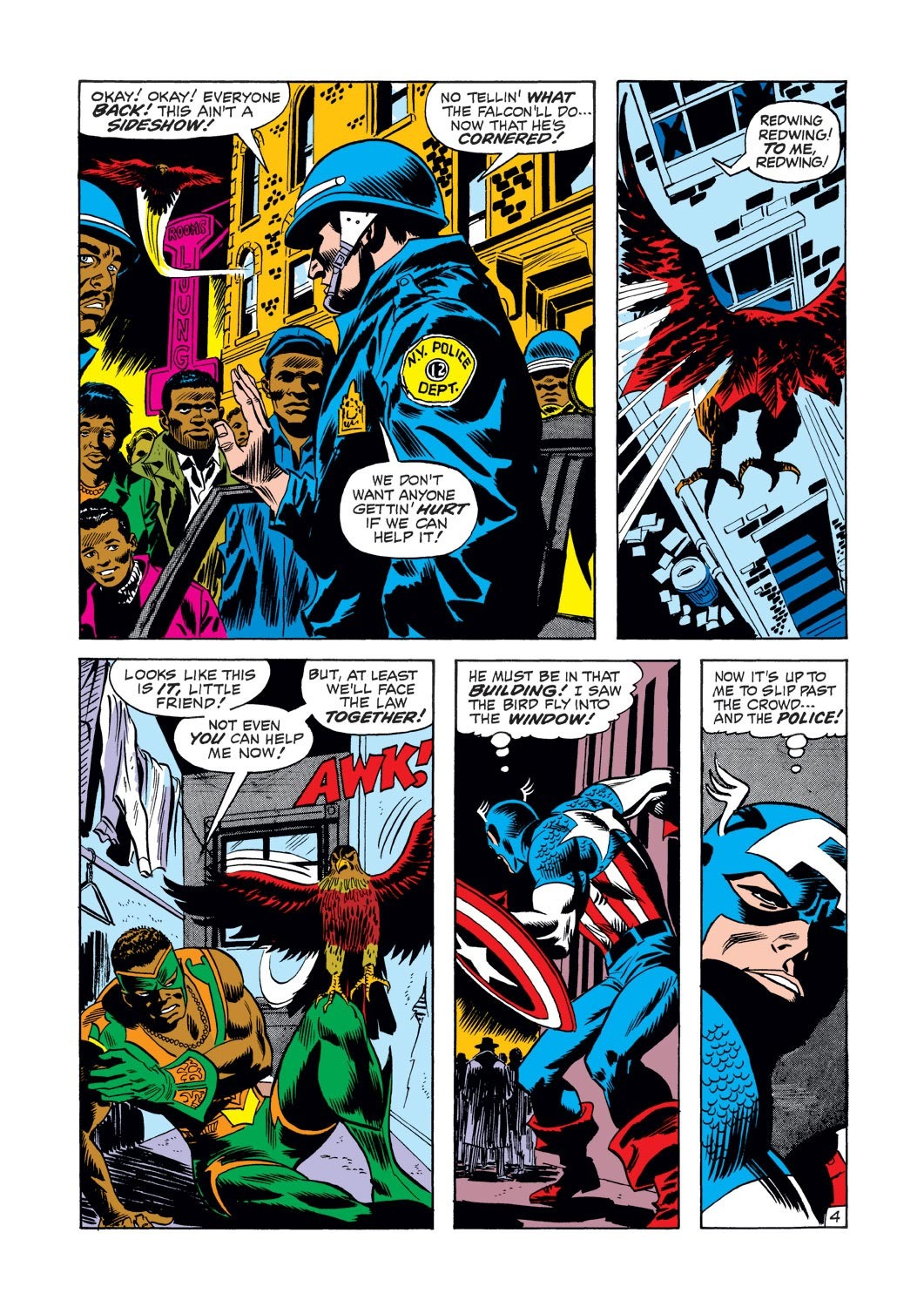 Captain America (1968) Issue #126 #40 - English 5