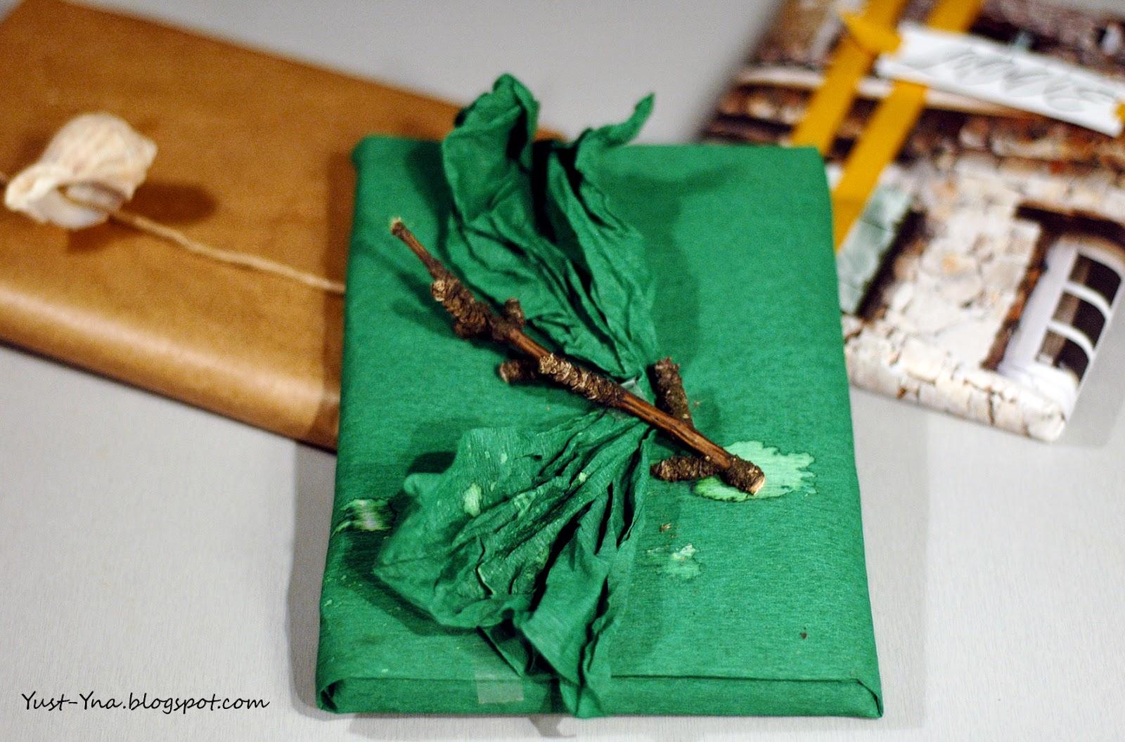 Jak zapakować prezent - DIY