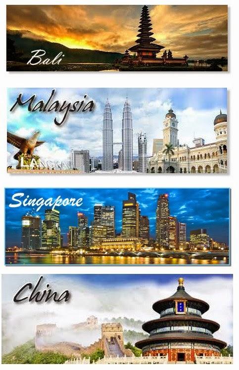 Paket Wisata Domestik dan Internasional