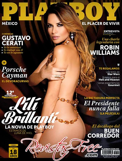 Playboy México - Lili Brillanti - Outubro 2014