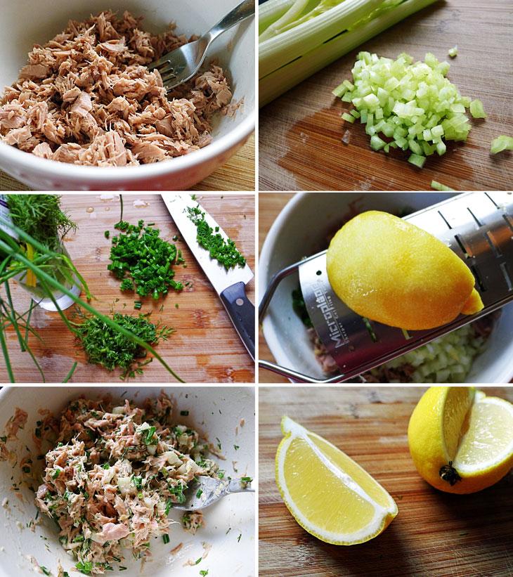 Салат с тунцом консервированным диетические