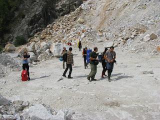 Cariera de marmura pe Valea Crisului Baita