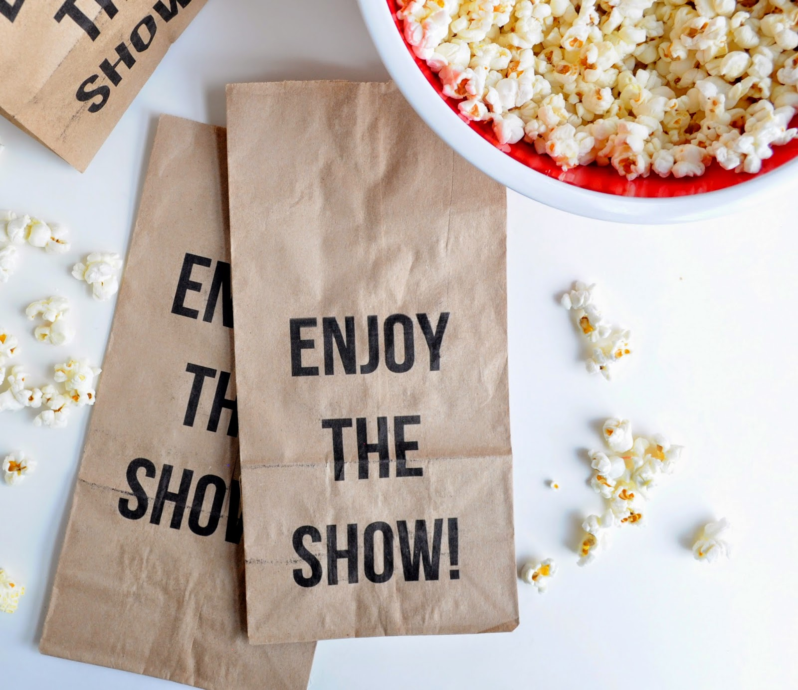 photograph about Popcorn Bag Printable identify do-it-yourself: printable online video evening popcorn luggage