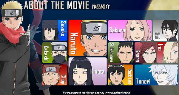 Characters The Last: Naruto the Movie