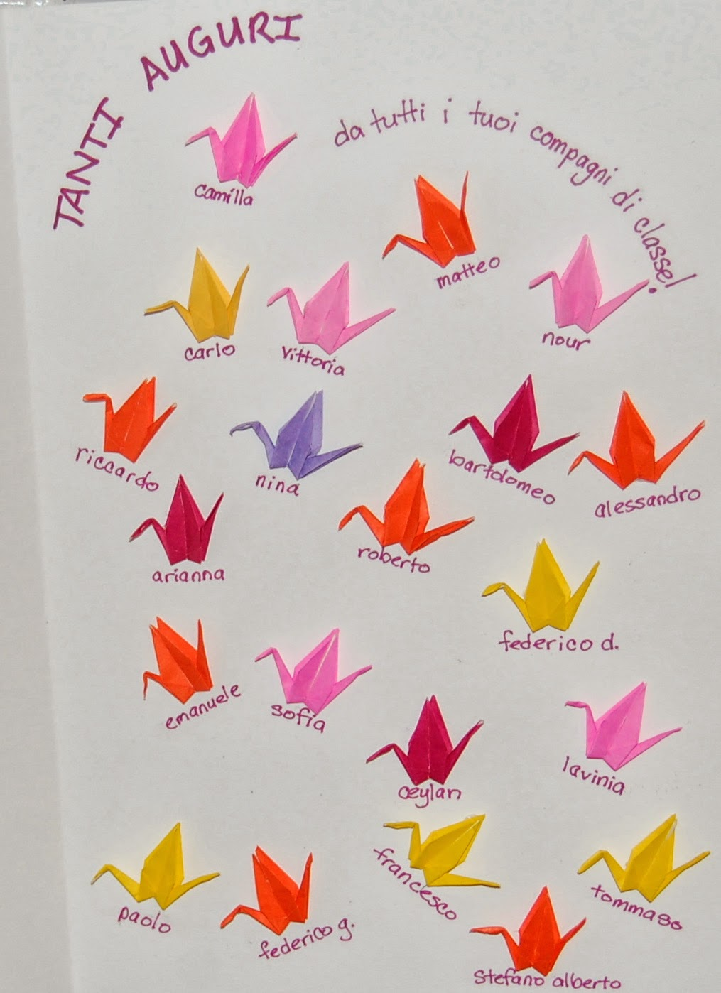 Origami crane birthday card what do i do origami crane birthday card bookmarktalkfo Choice Image