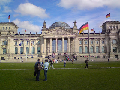 Reichstag Bundestag Berlín Parlamento