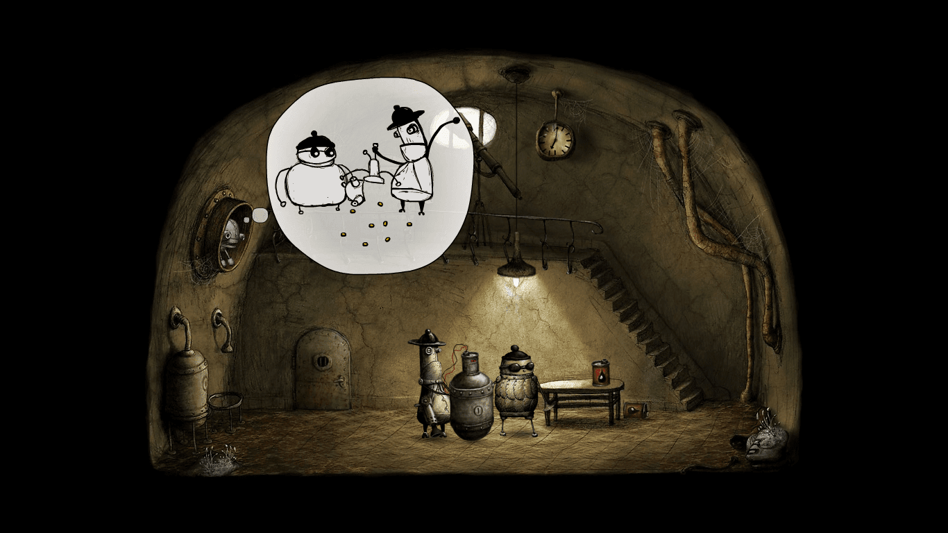 Machinarium criminal gang