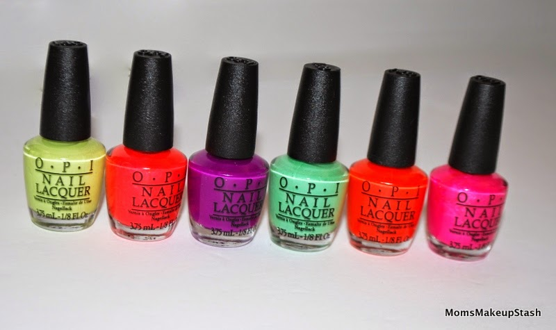 OPI Neons, OPI Neons 2014, OPI Collection Summer 2014, OPI Summer 2014, OPI Neons Swatches