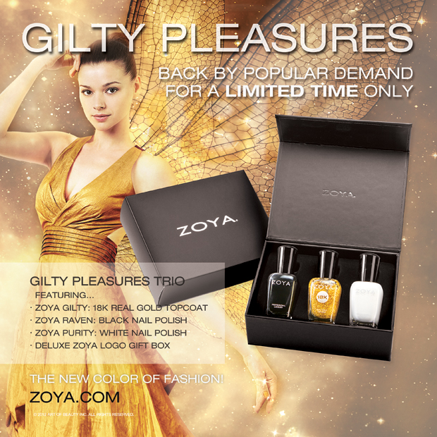 Zoya 18K Gold Top Coat